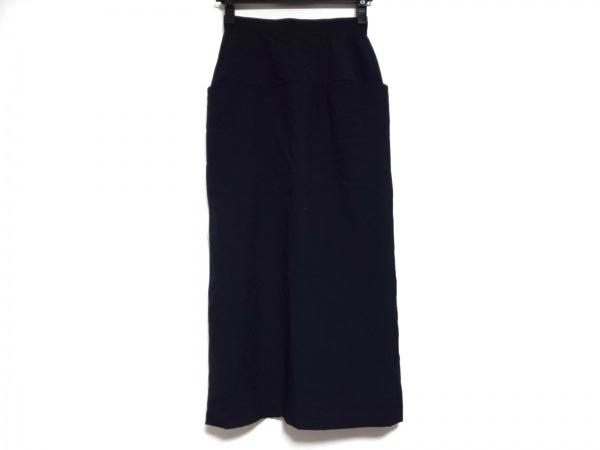 トリココムデギャルソン ロングスカート サイズS レディース美品  ダークネイビー