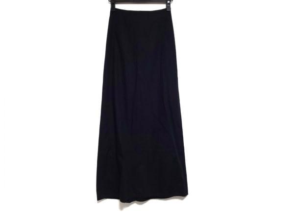 Y's(ワイズ) ロングスカート サイズ2 M レディース美品  黒 コットン