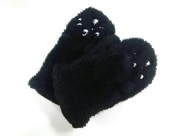 Ne-net(ネネット) 手袋 レディース 黒 化学繊維