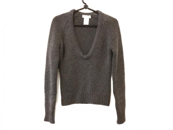 CELINE(セリーヌ) 長袖セーター サイズS レディース グレー カシミヤ