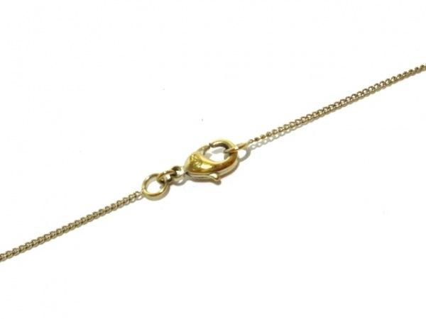 CHANEL(シャネル) ネックレス美品  カメリア 金属素材 ゴールド×白 4