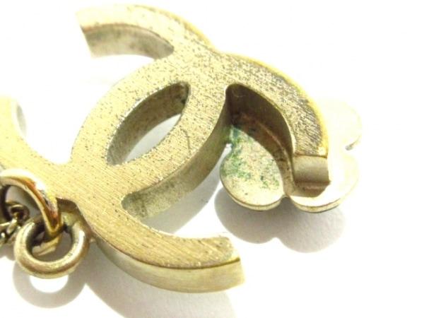 CHANEL(シャネル) ネックレス美品  カメリア 金属素材 ゴールド×白 6