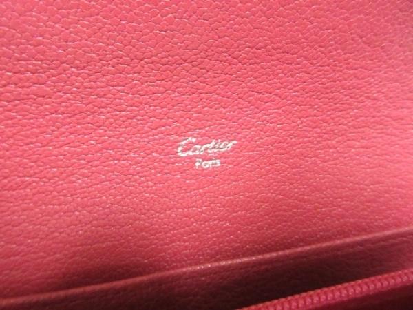Cartier(カルティエ) 長財布 ラブ ピンク レザー 5