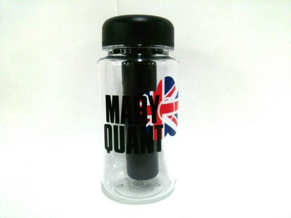 MARY QUANT(マリークワント) 小物美品  クリア×黒×マルチ タンブラー プラスチック