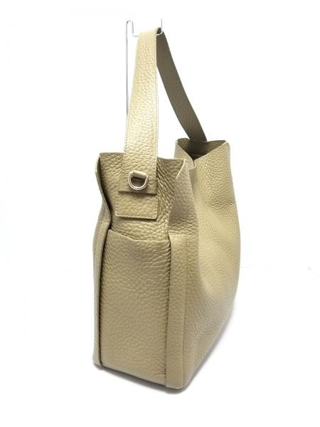 FURLA(フルラ) ハンドバッグ美品  00884921 ライトカーキ レザー 2