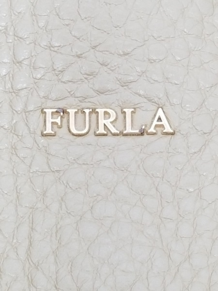 FURLA(フルラ) ハンドバッグ美品  00884921 ライトカーキ レザー 8