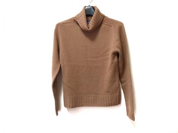 バーバリーブルーレーベル 長袖セーター サイズM レディース美品  ブラウン