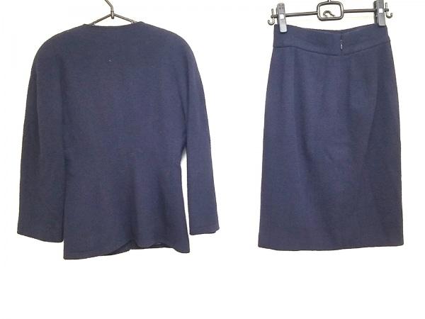 シャネル スカートスーツ サイズ38 M レディース ダークネイビー 2