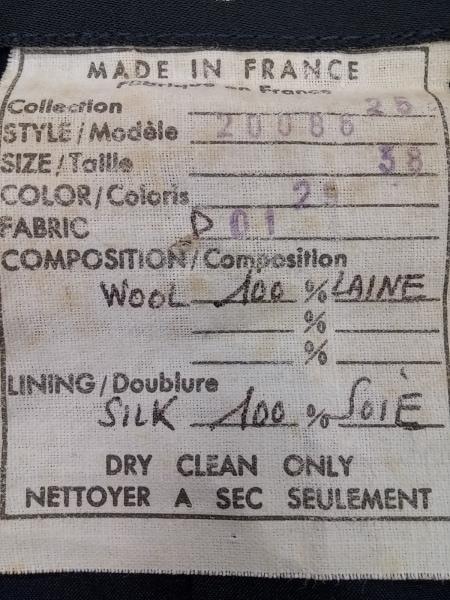 シャネル スカートスーツ サイズ38 M レディース ダークネイビー 4