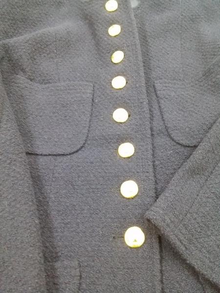 シャネル スカートスーツ サイズ38 M レディース ダークネイビー 5