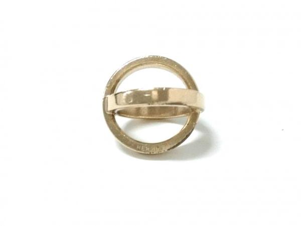 HERMES(エルメス) スカーフリング コスモス 金属素材 ゴールド 1