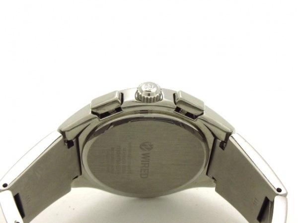 WIRED(ワイアード) 腕時計美品  7T92-0TB0 メンズ アイボリー 4
