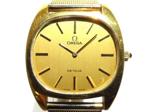OMEGA(オメガ) 腕時計 デビル メンズ ゴールド