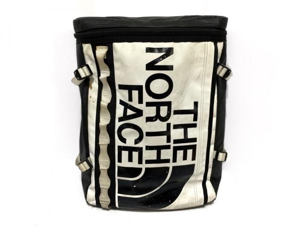 THE NORTH FACE(ノースフェイス) リュックサック 黒×白 PVC(塩化ビニール)×ナイロン