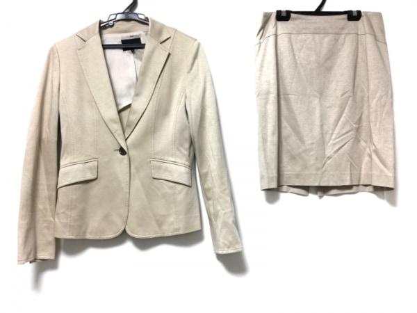 22OCTOBRE(ヴァンドゥ オクトーブル) スカートスーツ サイズ38 M レディース ベージュ
