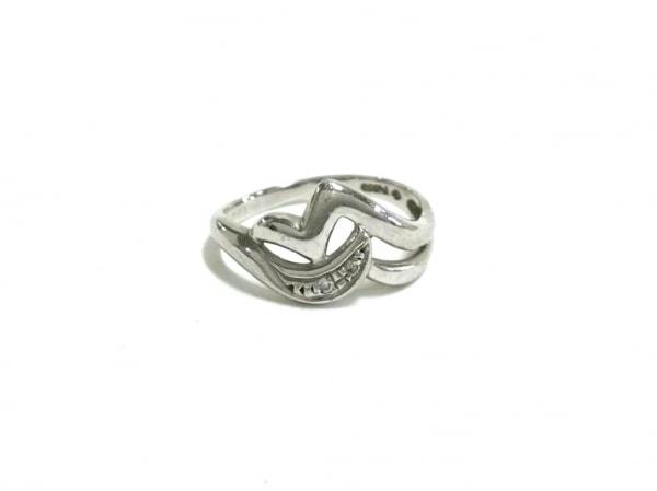 ノーブランド リング美品  Pt850×ダイヤモンド 総重量:3.4g/001刻印