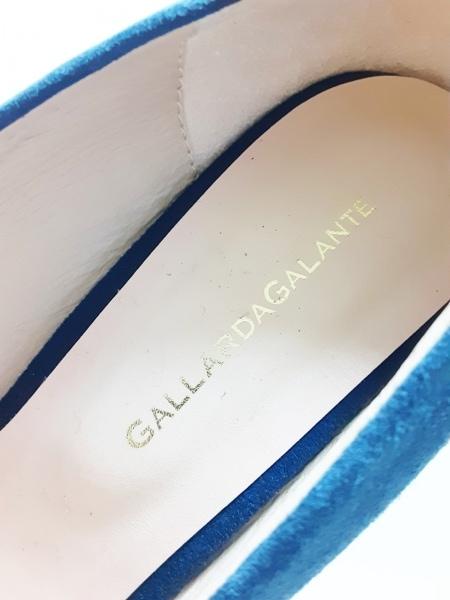 GALLARDAGALANTE(ガリャルダガランテ) パンプス 37 レディース ネイビー スエード