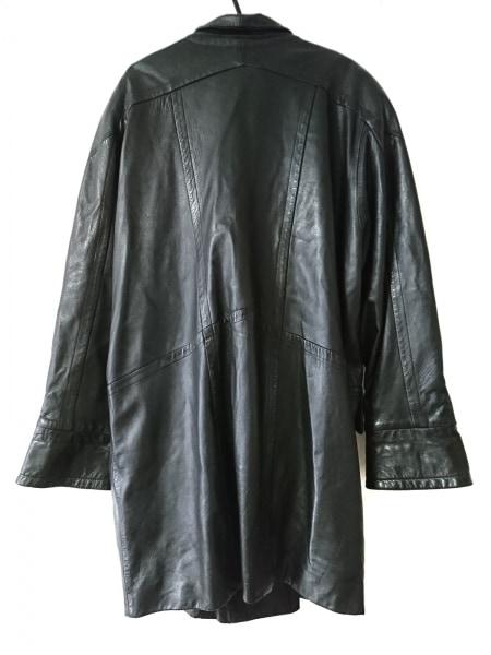 PIERRE BALMAIN(ピエールバルマン) コート サイズF メンズ美品  黒 レザー