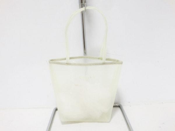 FOXEY(フォクシー) ハンドバッグ美品  ライトグリーン ミニサイズ 化学繊維