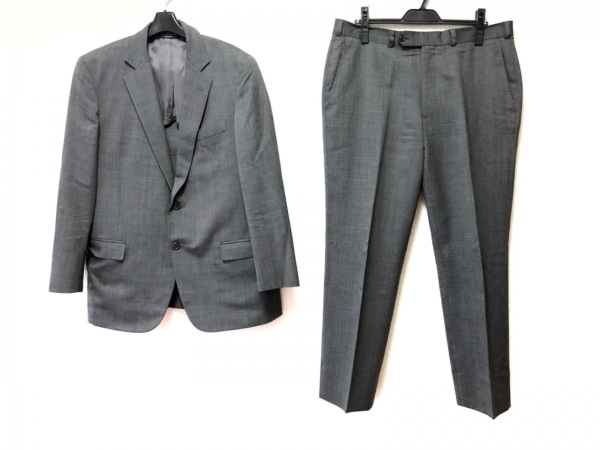 ブルックスブラザーズ シングルスーツ サイズ41SHT 35W メンズ ダークグレー
