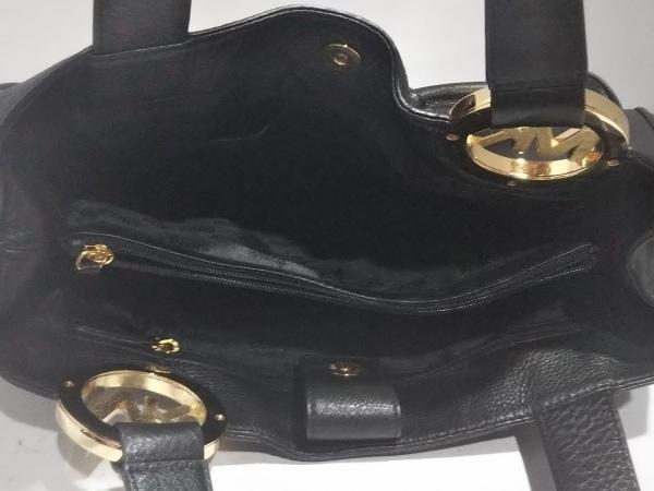 MICHAEL KORS(マイケルコース) トートバッグ美品  黒 レザー