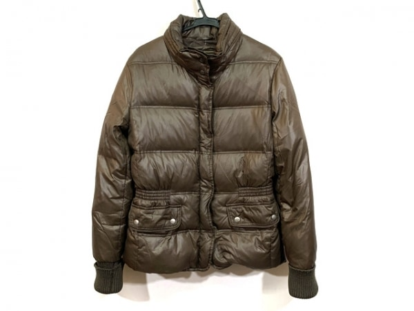 GEOX(ジェオックス) ダウンジャケット サイズ40 M レディース ブラウン 冬物