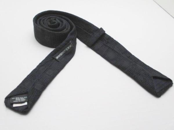 DOLCE&GABBANA(ドルチェアンドガッバーナ) ネクタイ メンズ 黒 2