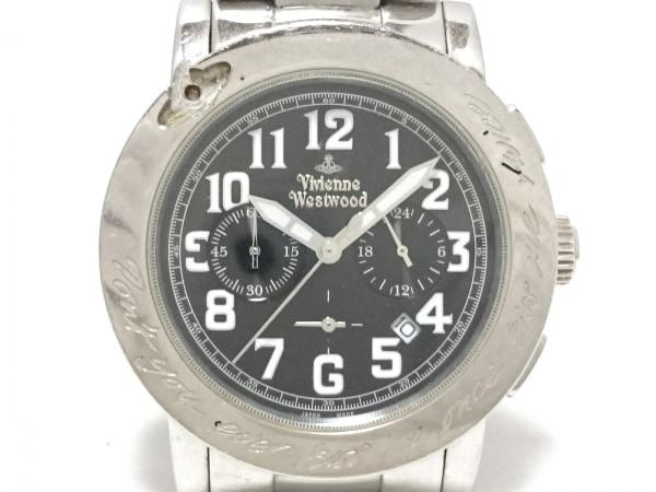 VivienneWestwood(ヴィヴィアン) 腕時計 キスミーワンス VW-2081 メンズ 黒