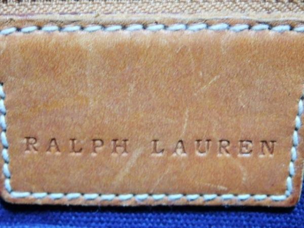 RalphLauren(ラルフローレン) トートバッグ ビッグポニー パープル×ダークネイビー