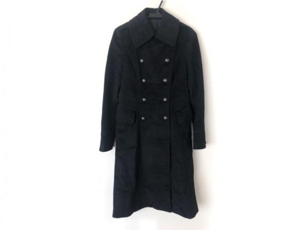 COMME CA DU MODE(コムサデモード) コート レディース美品  - 黒 長袖/冬