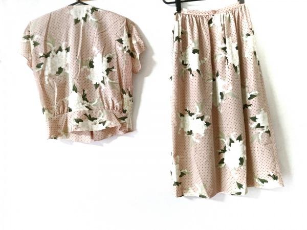 インゲボルグ スカートセットアップ サイズ  レディース美品  花柄/ドット柄