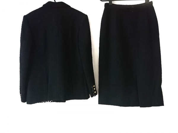 INGEBORG(インゲボルグ) スカートスーツ サイズM レディース美品  黒