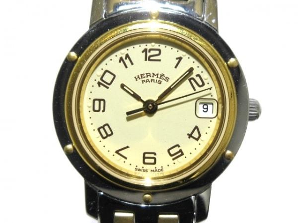 HERMES(エルメス) 腕時計 クリッパー CL4.220 レディース ゴールド