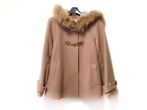 レッセパッセ コート サイズ36 S レディース ライトブラウン 冬物/ファー