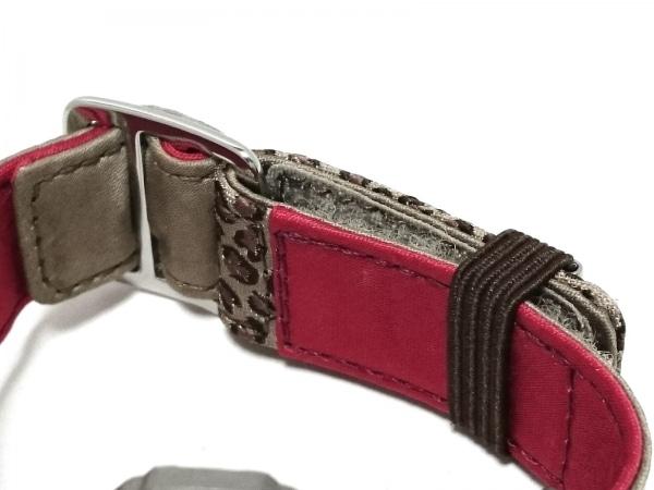 CASIO(カシオ) 腕時計 Baby-G BG-25 レディース 豹柄 ベージュ×ブラウン