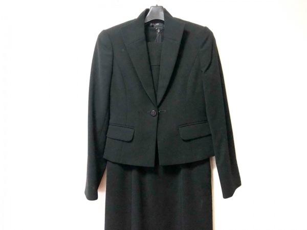 MICHELKLEIN(ミッシェルクラン) ワンピーススーツ サイズ5 XS レディース 黒