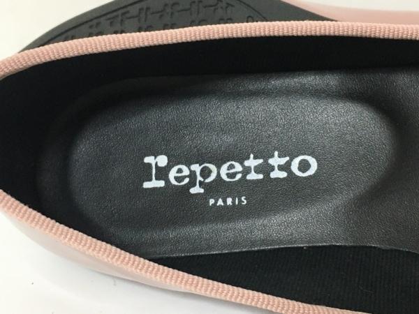 repetto(レペット) フラットシューズ 35 レディース美品  ピンク エナメル(レザー)