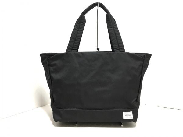 PORTER GIRL(ポーターガール) ハンドバッグ美品  黒 ナイロン