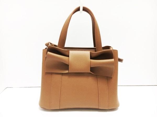 anatelier(アナトリエ) ハンドバッグ美品  ブラウン 合皮