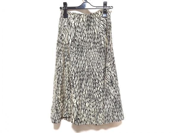Sybilla(シビラ) ロングスカート サイズS レディース アイボリー×黒