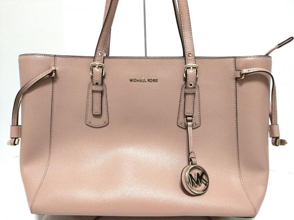 MICHAEL KORS(マイケルコース) ショルダーバッグ美品  ピンク レザー