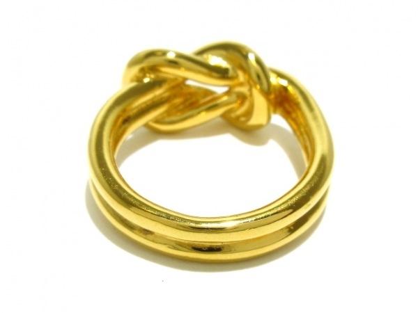 HERMES(エルメス) スカーフリング美品  アタメ 金属素材 ゴールド 2