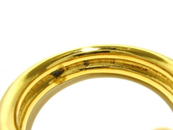 HERMES(エルメス) スカーフリング美品  アタメ 金属素材 ゴールド 4