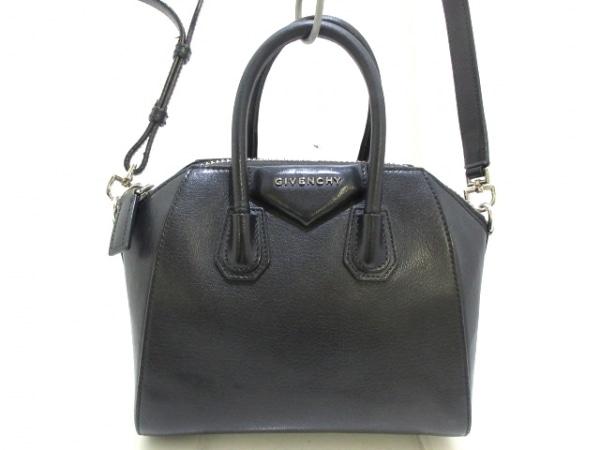 GIVENCHY(ジバンシー) ハンドバッグ アンティゴナミニ 黒 レザー