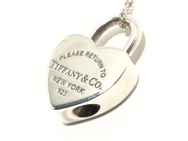 TIFFANY&Co.(ティファニー) ネックレス リターントゥハートロック シルバー