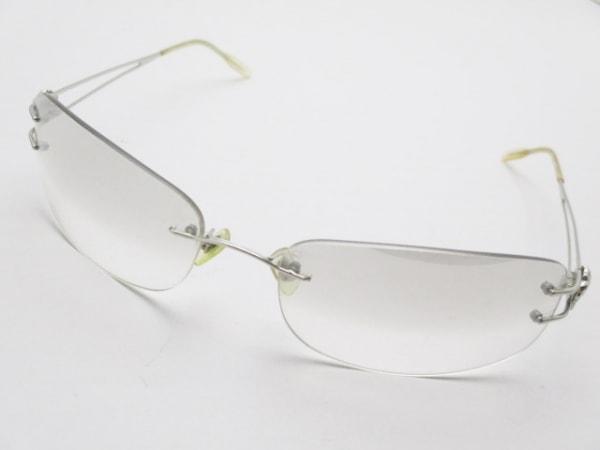ヴェルサーチ サングラス MOD.N43 ベージュ×シルバー プラスチック×金属素材