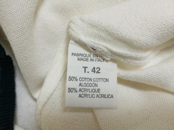 CAROLL(キャロル) 半袖カットソー レディース 白×ダークネイビー 4