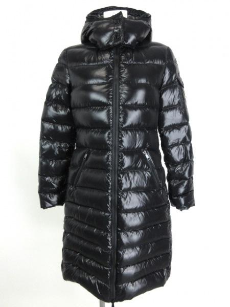 MONCLER(モンクレール) ダウンコート サイズ0 XS レディース美品  MOKA 黒 冬物