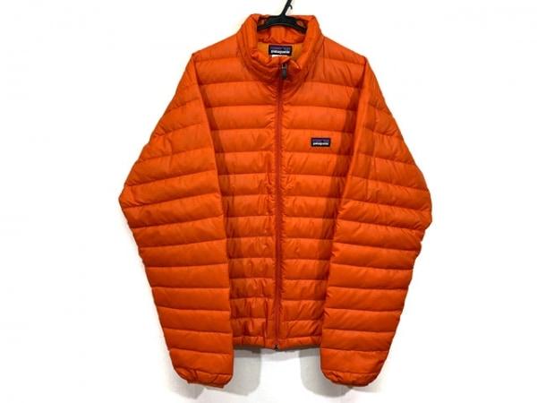 Patagonia(パタゴニア) ダウンジャケット サイズM メンズ オレンジ 冬物