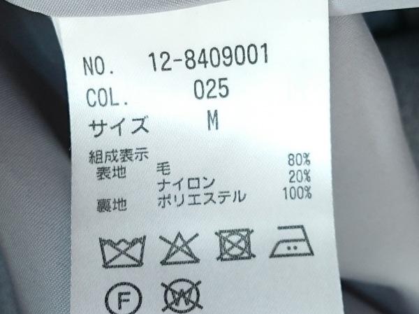 PLS+T(PLST)(プラステ) コート サイズM レディース美品  グレー 冬物